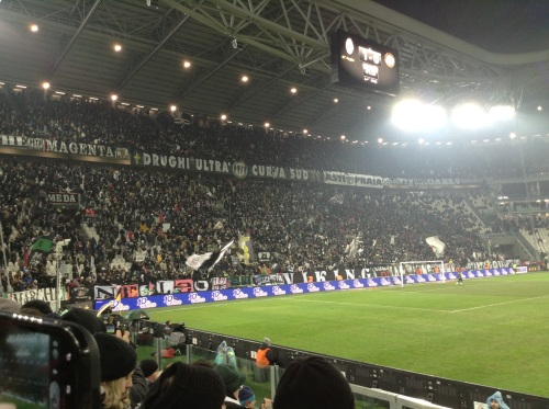 Curva Sud superfans