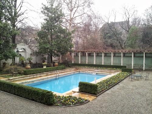 grounds of the Villa Necchi